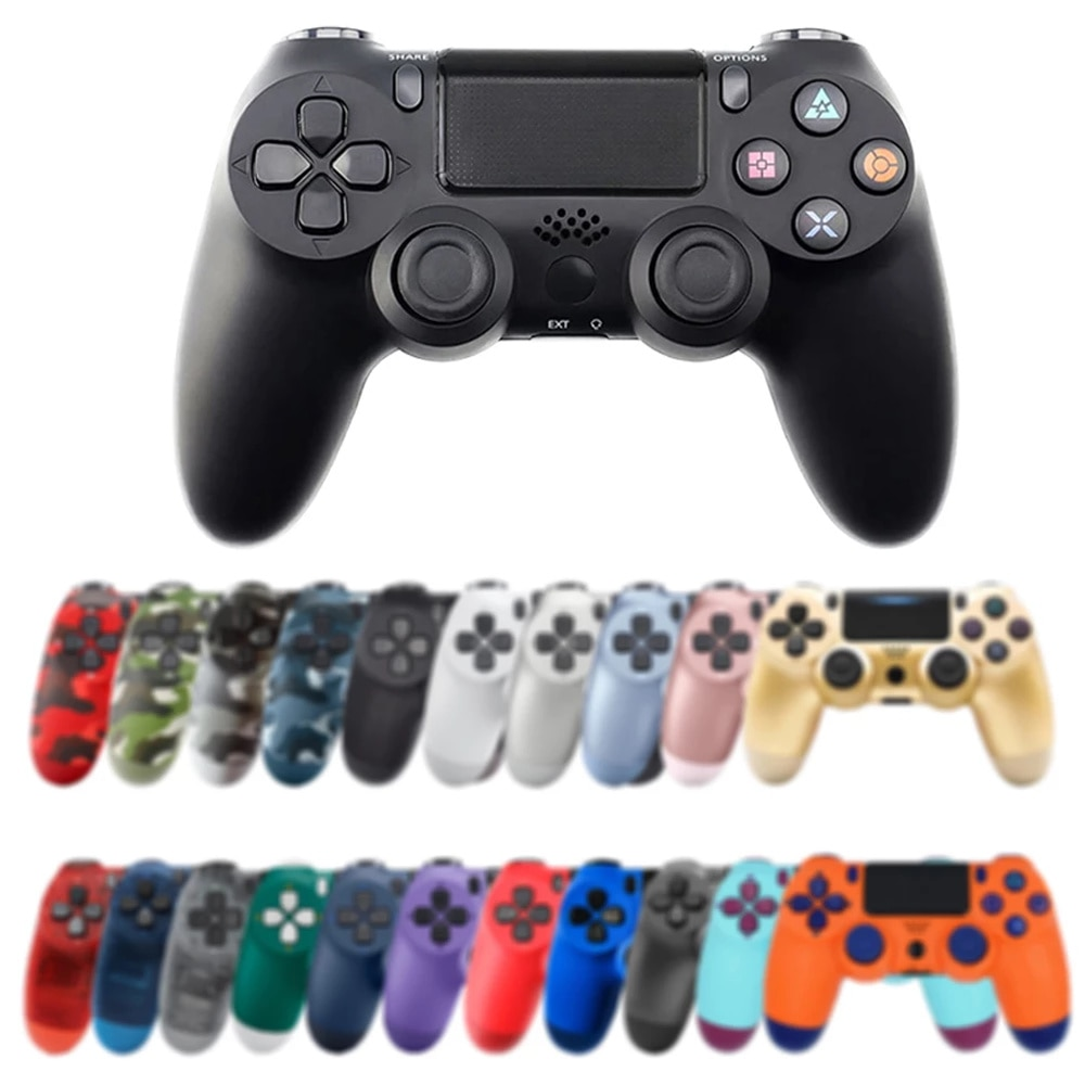 Support Bluetooth Wireless Joystick for PS4 Controller Fit for mando for Console for Playstation 4 android Gamepad for PS3