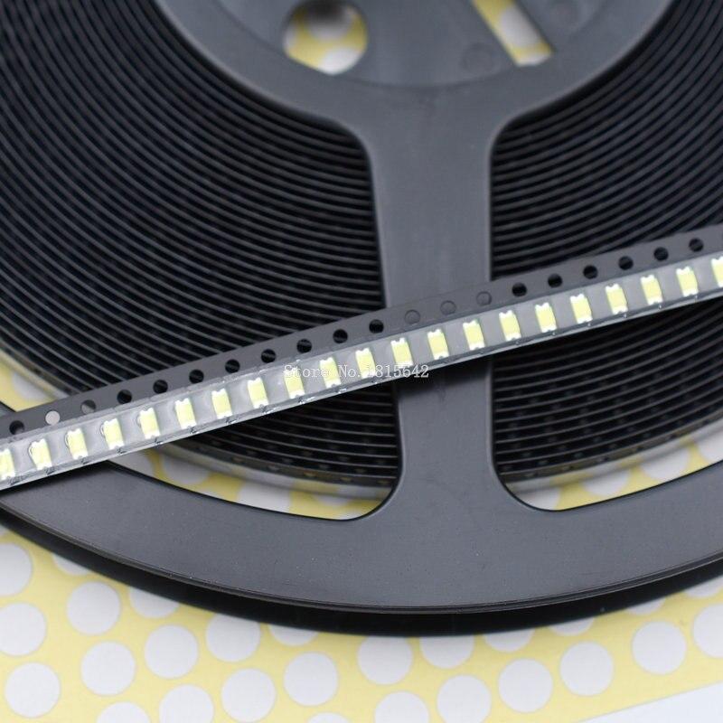 200 pçs/lote 1206 branco smd diodo led luz 3216 diodos smd super brilhante 1206 led 3.2*1.6mm cor branca novo