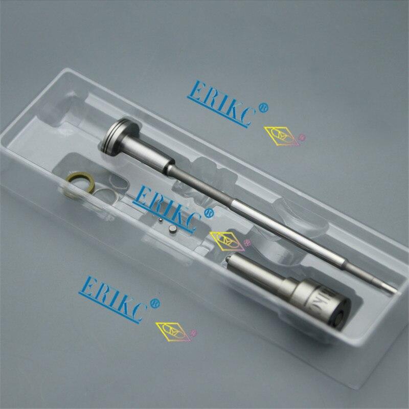 Kit de reparación de inyectores ERIKC CR boquilla DLLA146P1610 válvula F00RJ01683 para ZEXEL 107755-028 inyección 0445120080