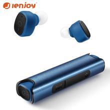 Ienjoy S2 TWS сенсорные bluetooth-наушники с отпечатком пальца, Беспроводные стереонаушники HD, игровая гарнитура с шумоподавлением