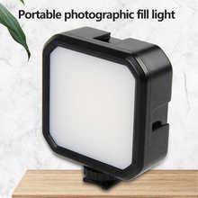 Кармансветильник светодиодный свет MJ58 для видеосъемки заполсветильник 3000K-7000K с регулируемой яркостью CRI95 + Встроенный аккумулятор с крепле...