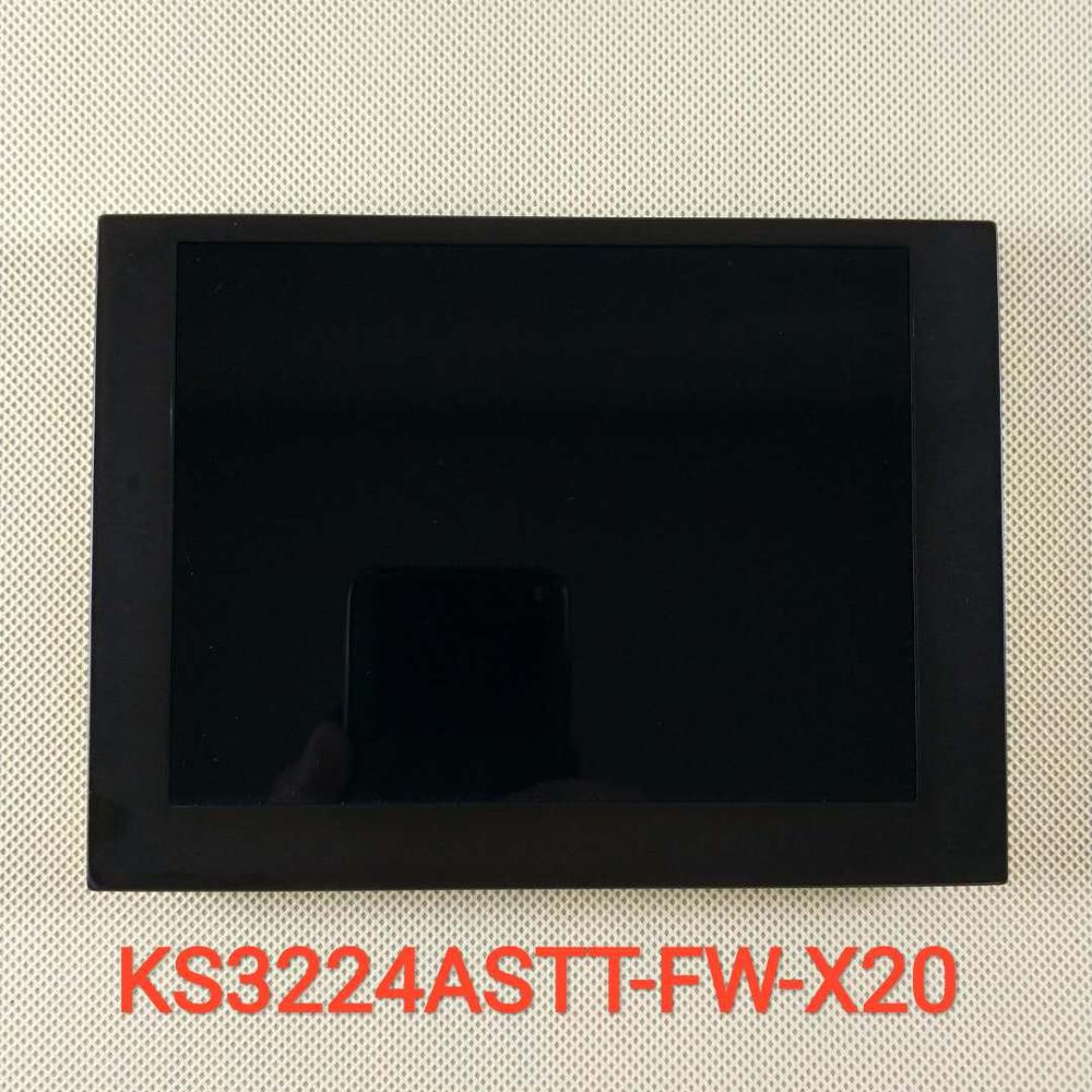 Novo original 5.7-Polegada lcd tela industrial para KS3224ASTT-FW-X20 display