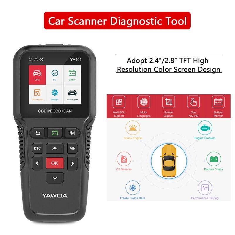 OBD2 сканер автомобильный 2,8