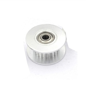 2M 2GT 20 Teeth Synchronous Wheel Idler Pulley, Bore 3/4/5mm with Bearing Black for GT2 Timing belt, Width 6MM ,20teeth 20T