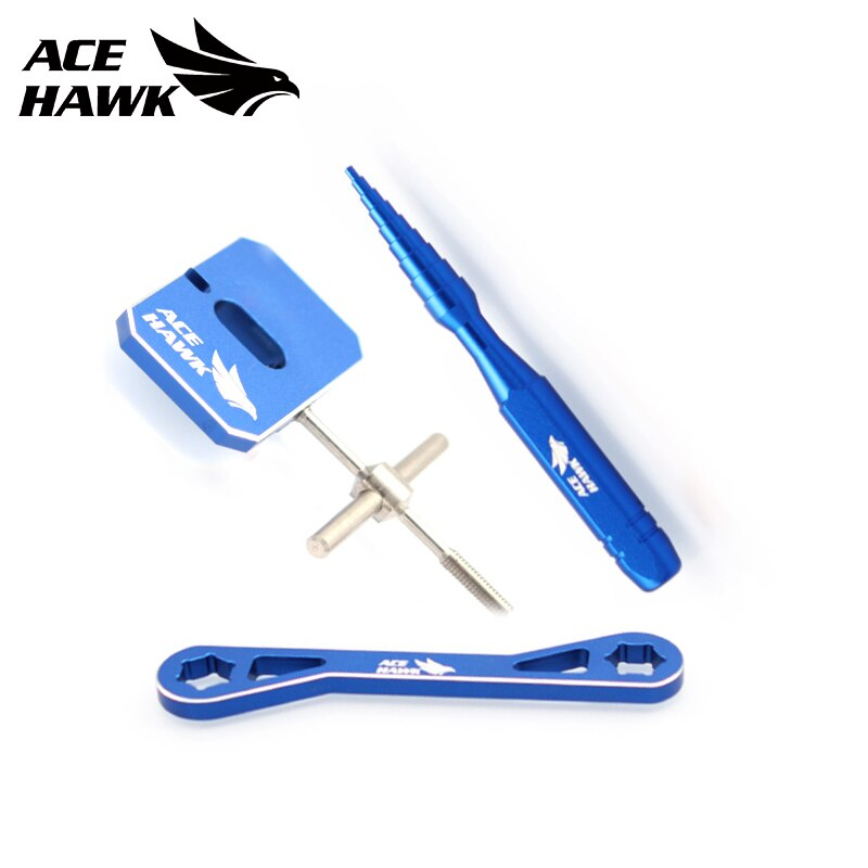 BaitCasting Equipment Fishing Reel Spool Remover Ball Bearing Disassembly Maintenance And Repair Tool Wrench Check Tackle enlarge