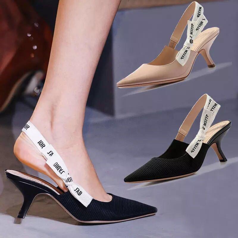 السيدات أحذية صندل عادي الجانب فارغة القوس أحذية نسائية أحذية مصممين الماركات الشهيرة للمرأة
