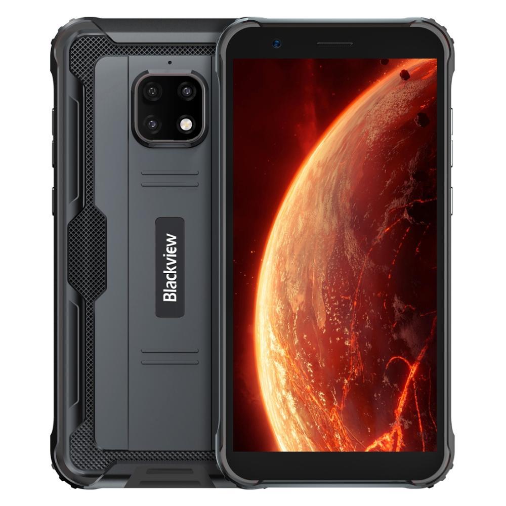 Blackview BV4900 IP68 прочный Водонепроницаемый смартфон 3 ГБ + 32 ГБ 5,7 дюйм Экран 5580 мА/ч, MT6761 Android 10 NFC 4G мобильный телефон с распознаванием лица