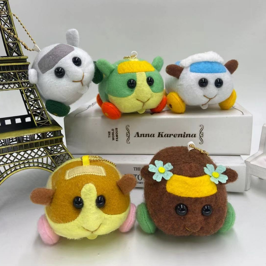 10cm PUI PUI Plush Toy Soft Stuffed Animals Hot Japan Cartoon Mouse Lovely Cavia porcellus Doll Kids