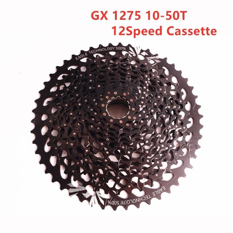 SRAM GX EAGLE 12S XG 1275 Cassette 12 SPEED MTB bicycle bike freewheel 10-50T Freewheel only fits XD hubs