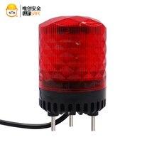 sound alarm led warning beacon flashing light alarm emergency light warn light lamp  strobe signal siren car alarm 220V 9-30V