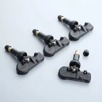 4pcs car tire pressure monitor system tmps fit for peugeot for citroen 9811536380 9673860880 433mhz 307 t5 308 t7
