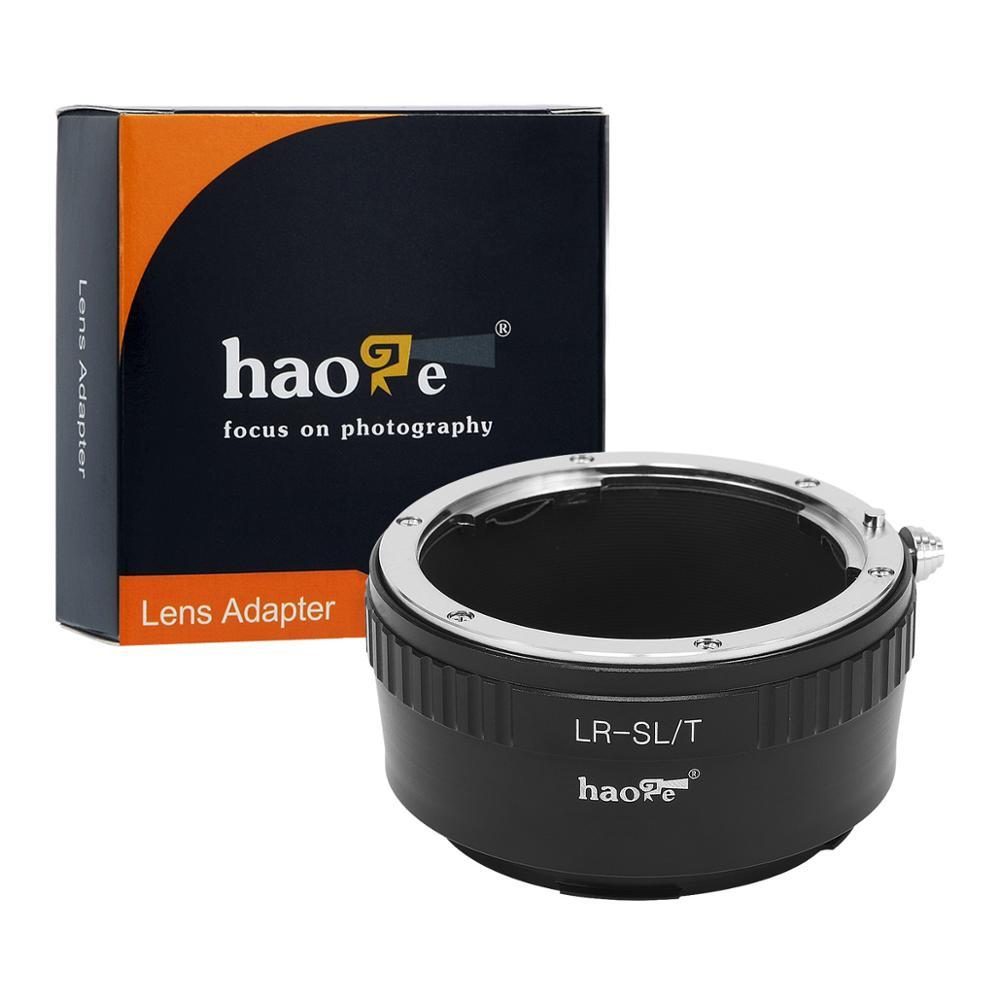 Haoge-محول تركيب عدسة يدوي لعدسة Leica R LR إلى كاميرا Leica L Mount مثل T و Typ 701 و Typ701 و TL و TL2 و CL (2017)