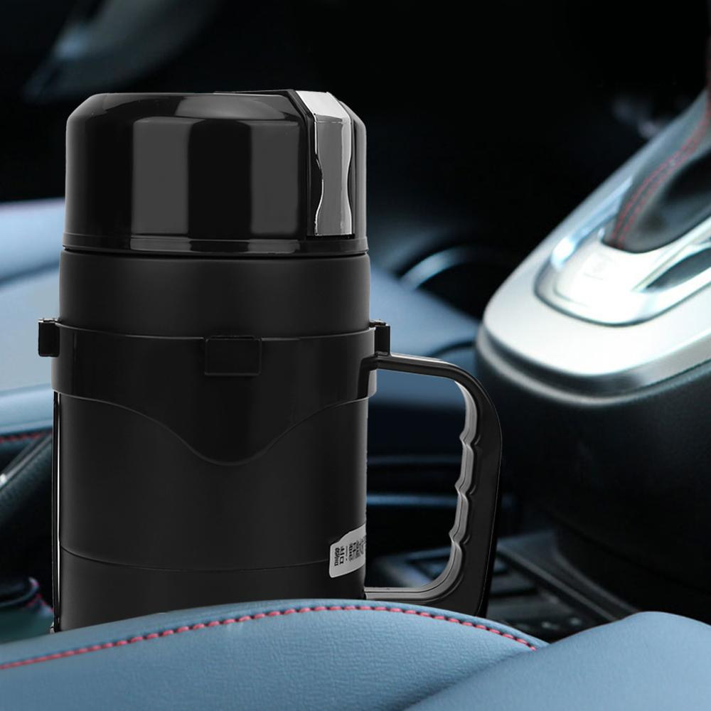 dmwd 12v 24v vehicle hot water boiling electric kettle travel truck thermal insulation heating cup car teapot boiler bottle 1 2l Portable Electric Kettle Stainless Steel Fast Hot Boiling Water Kettle Heating Cup 1100ml Large Capacity Travel Water Boiler Pot