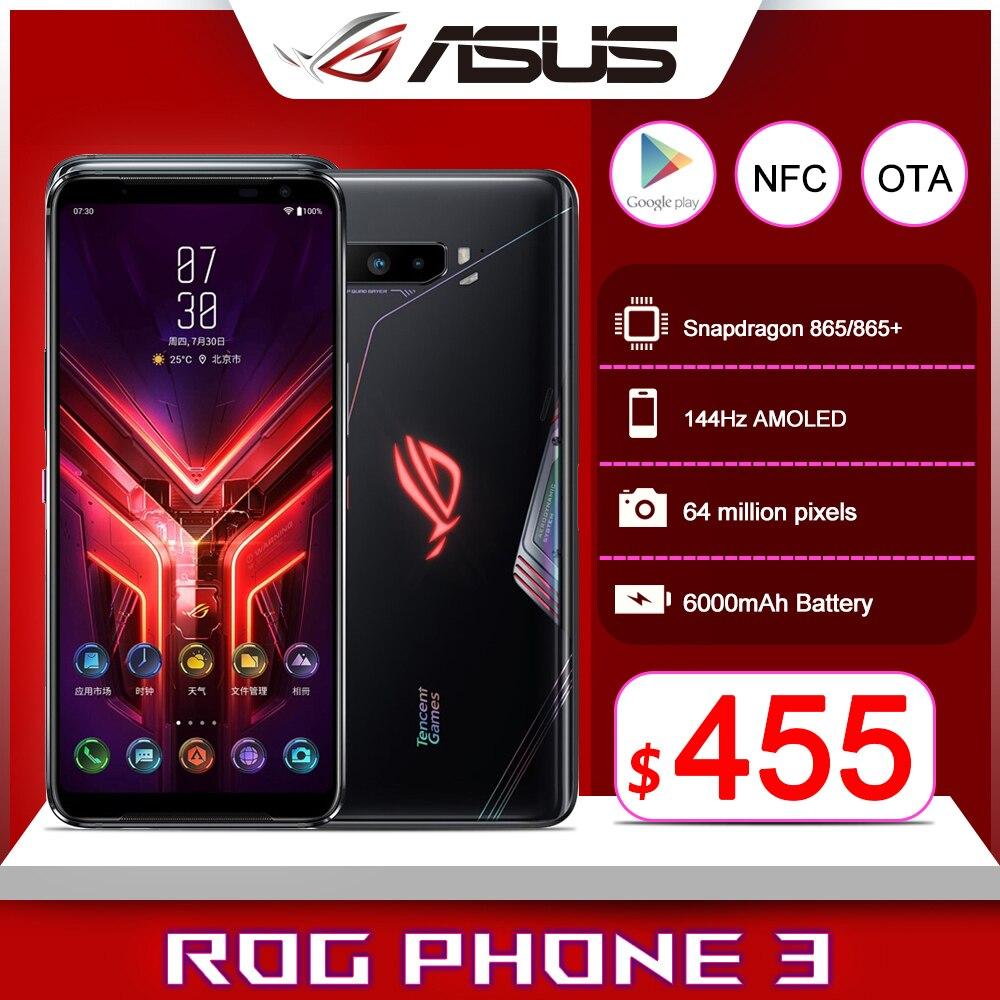 Новая глобальная прошивка Asus ROG 3 5G игровой телефон 6,59 дюйм. Snapdragon865/865 плюс 6000