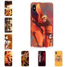 Silicone Skin Case Nine Tailed Demon Fox Naruto For Xiaomi Redmi Mi 4 7A 9T K20 CC9 CC9e Note 7 9 Y3 SE Pro Prime Go Play