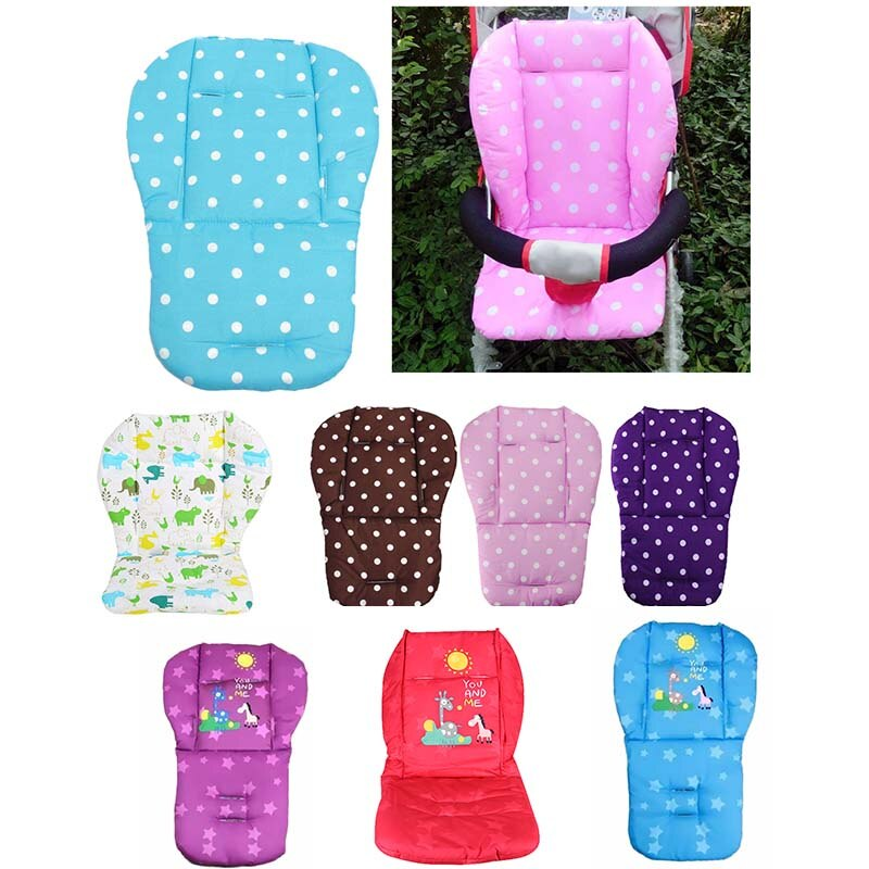 Baby Stroller Seat Cushion Cart Seat Cushion Child Pram Buggy Carriages Pushchair Stroller Mattress Mat Baby Stroller Accessor baby stroller high view vip mode baby stroller with safety seat shockproof portable baby cart