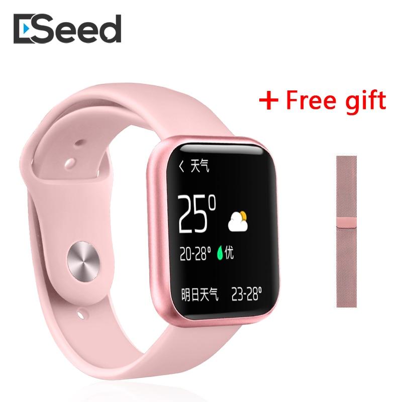 ESEED P80 smart watch 1,3 pulgadas completamente táctil pantalla IP68 resistente al agua 15 días de espera smartwatch hombres para android pK B57 P68 P70 pro