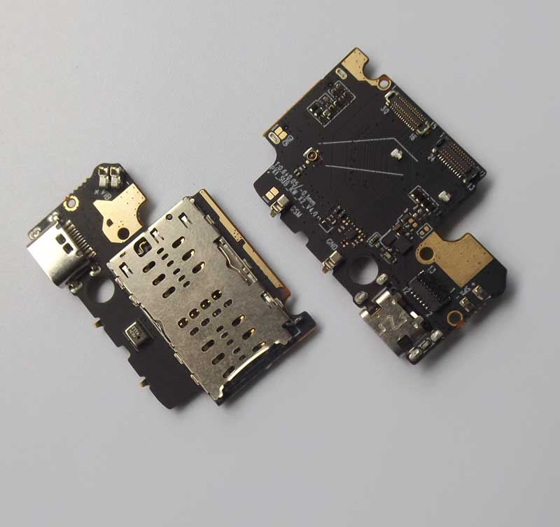 Umidigi-x placa USB con micrófono y tarjeta SIM trasera para UMIDIG X puerto de carga, base de carga, ranura para TYPE-C