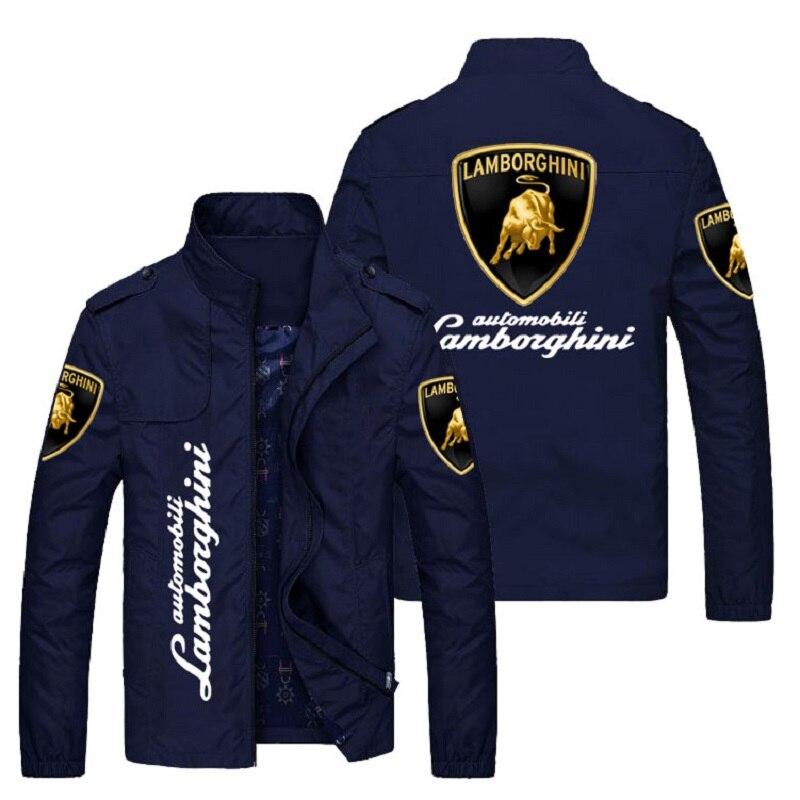 Эксклюзивная Мужская одежда для автомобильного клуба, Высококачественная куртка с принтом логотипа бренда автомобиля, модная одежда для о...