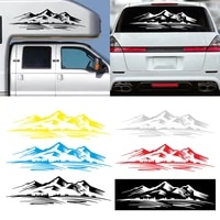 sale car stickers mountain totem self adhesive vinyl graphics engine hood car body decals waterproof universal car accessories
