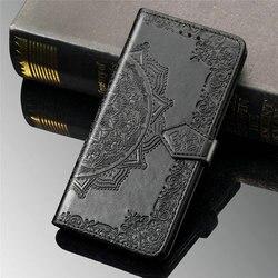 Para oppo encontrar x2 pro x 2 caso luxo couro 3d mandala carteira escudo capa do telefone encontrar x2 neo flip caso encontrar x2 lite 2x x2neo