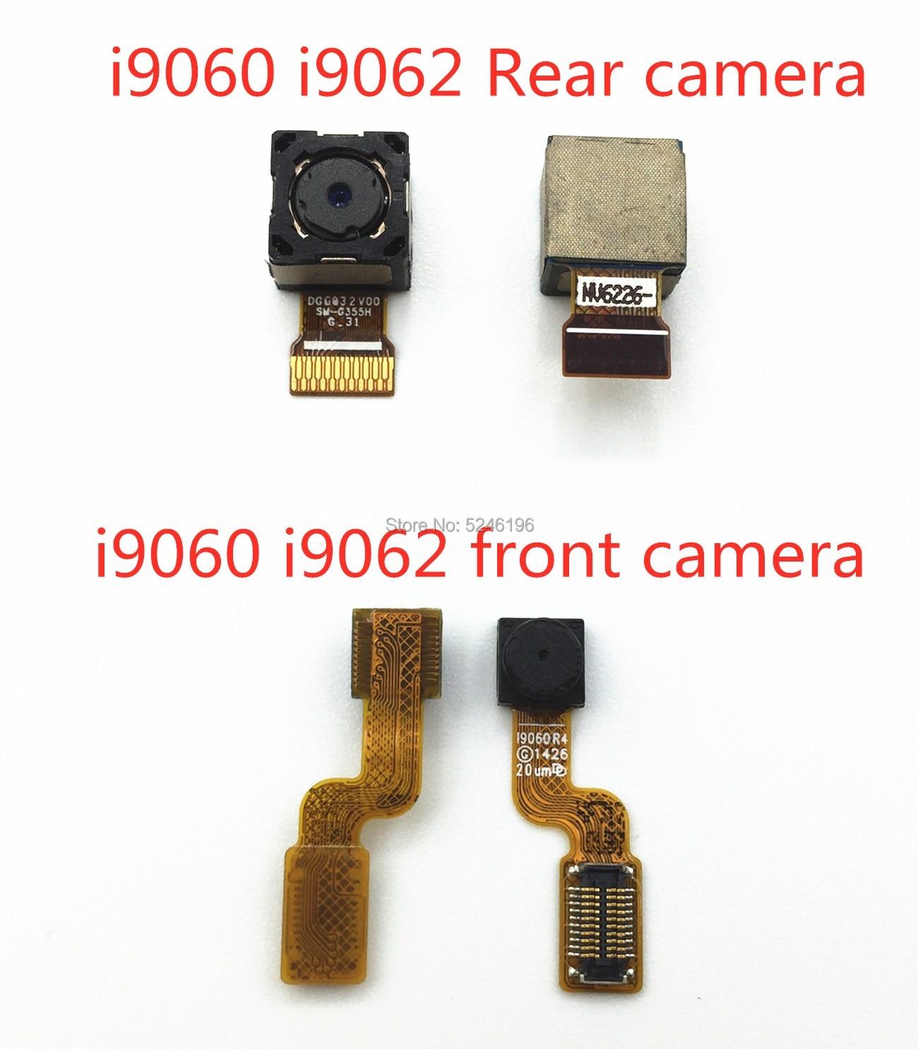 1pcs Back big Main Rear Camera front camera Module Flex Cable For Samsung Galaxy i9060 i9062 Back Ma