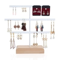 52 hook earring jewelry organizer earring organizer hanging holder necklace display stand box holder rack jewelry hanger