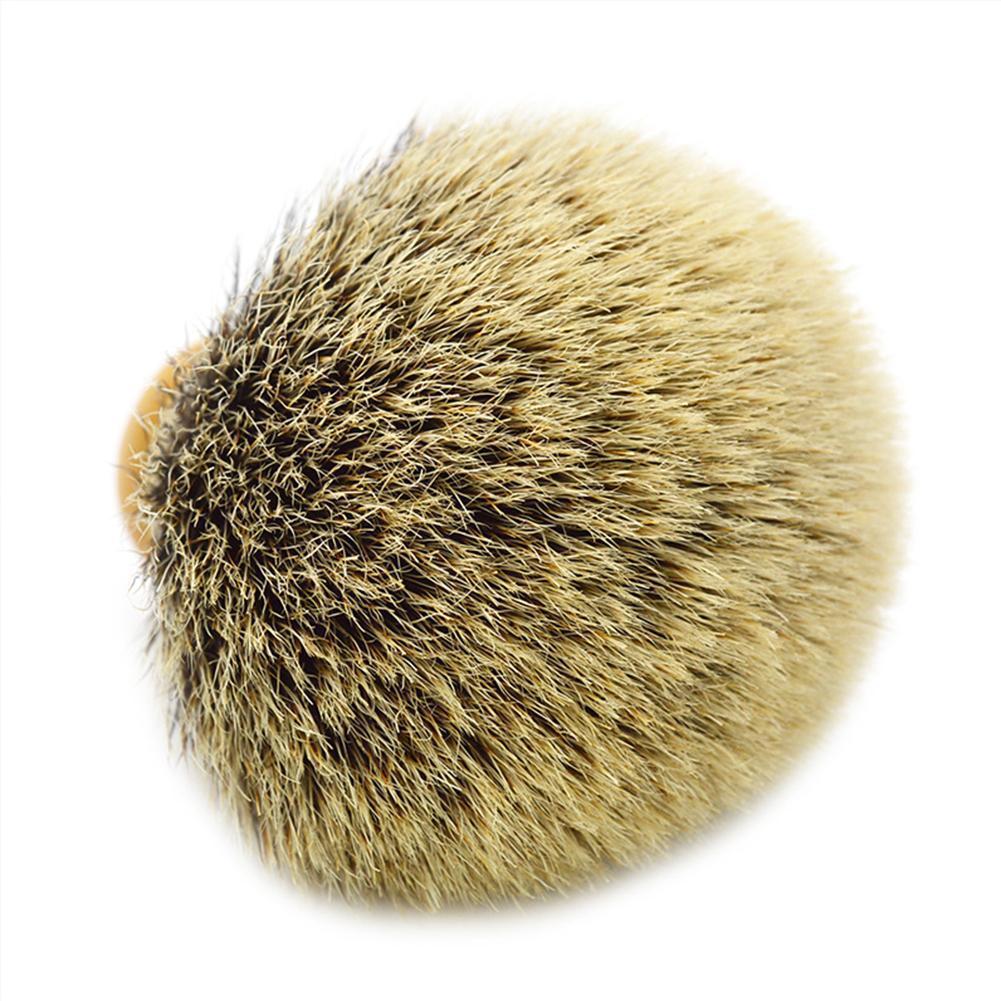 Badger Hair Shaving Brush Head BRUSH-3 Color Synthetic Brush Shaving Men's Knots Shaving Hair Brush Z8C7 недорого