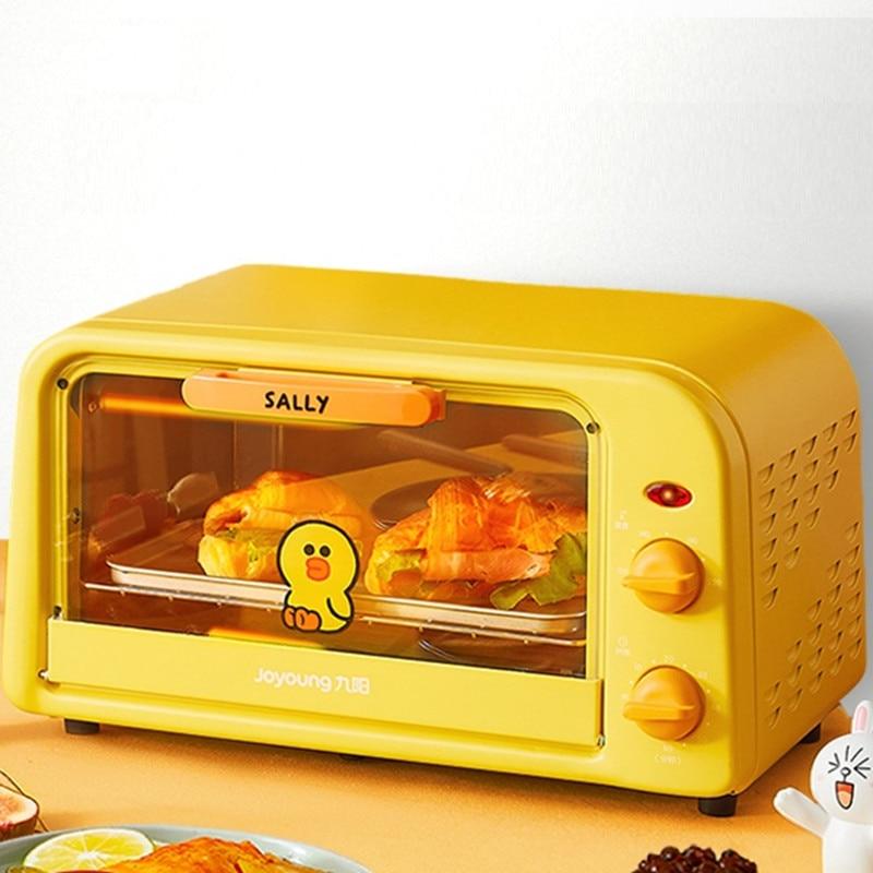 فرن كهربائي أوتوماتيكي للمنزل ، 220 فولت 10 لتر ، آلة خبز متعددة الوظائف للخبز والكعك