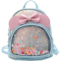 pu children bag leather school bags kids student backpacks toddler kindergarten fashion book bags cute backpack for baby girls