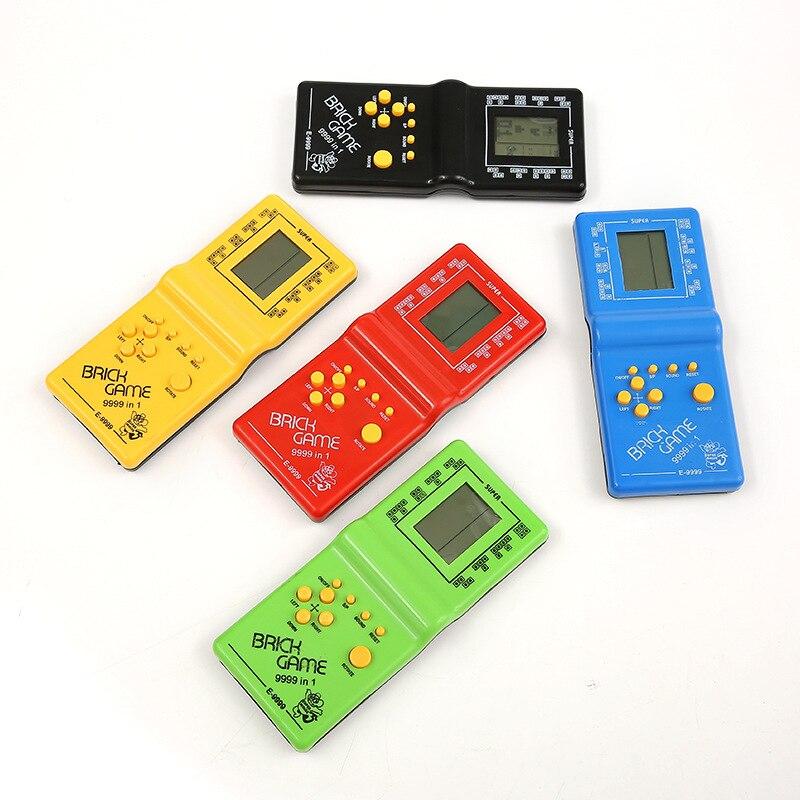 Пластиковый портативный игровой плеер IPEGA для Тетрис, электронные игрушки с ЖК-дисплеем, Карманная игровая консоль, классический подарок де...