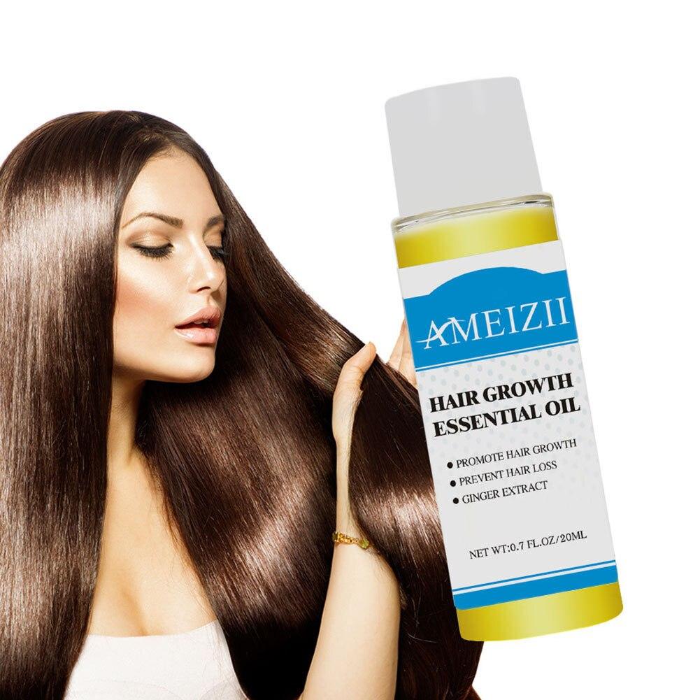 Convenient 20ml Portable Practical Health Anti Hair Loss Shampoo Essence Ginger Extract Oil for Hair Growth Hair Care