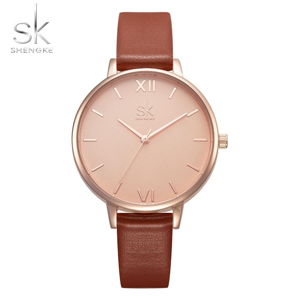 Anke Store new wristwatch  fashion simple casual ladies quartz belt waterproofluxury brand dress women watches  reloj mujer enlarge