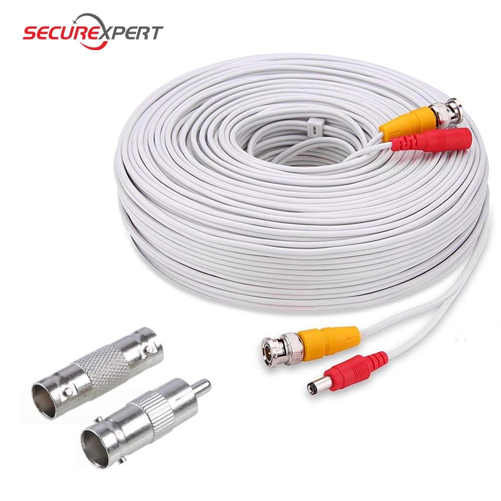 Бесплатная доставка BNC разъем BNC видео кабель питания 5 м 10 м 15 м 20 м 30 м 40 м 50 м для аналоговой AHD CCTV камеры системы безопасности