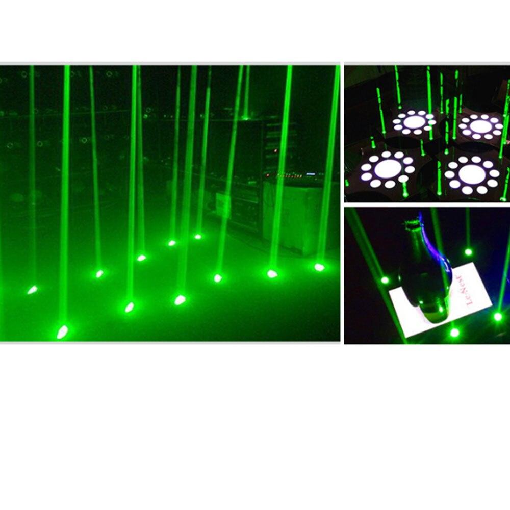 KTV DJ бар сцена освещение 532 нм 50 мВт зеленый лазер диод модуль толстый луч 4,2-5 В
