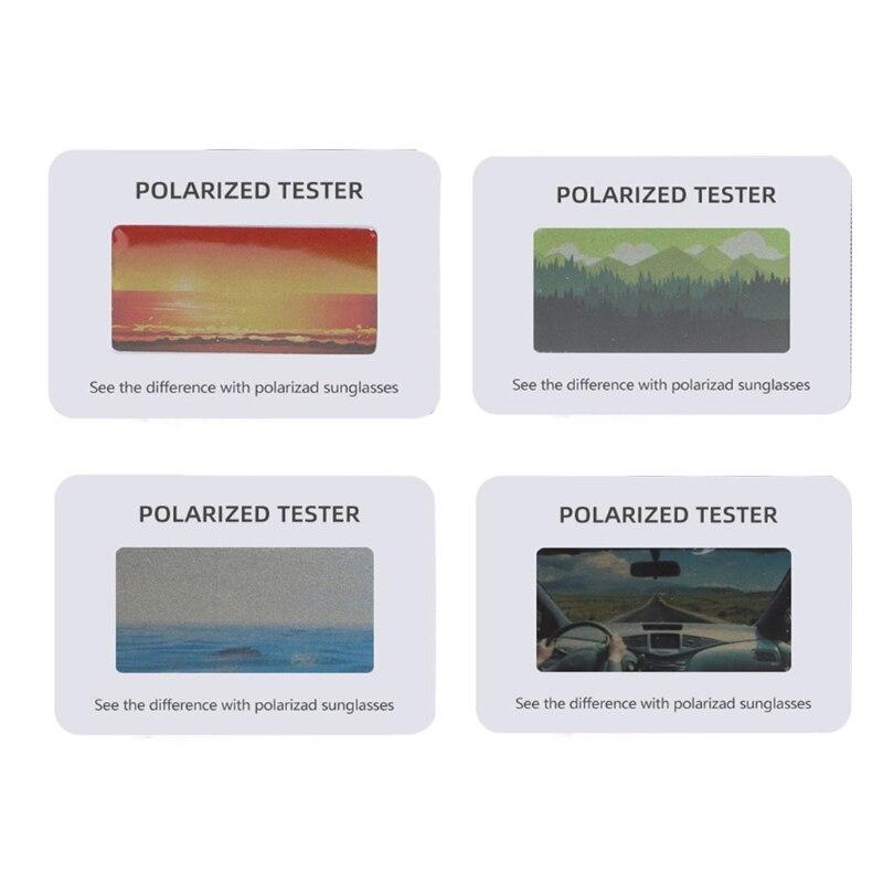 Sunglasses Polarised Test Card for Mens Ladies  Kids 875F