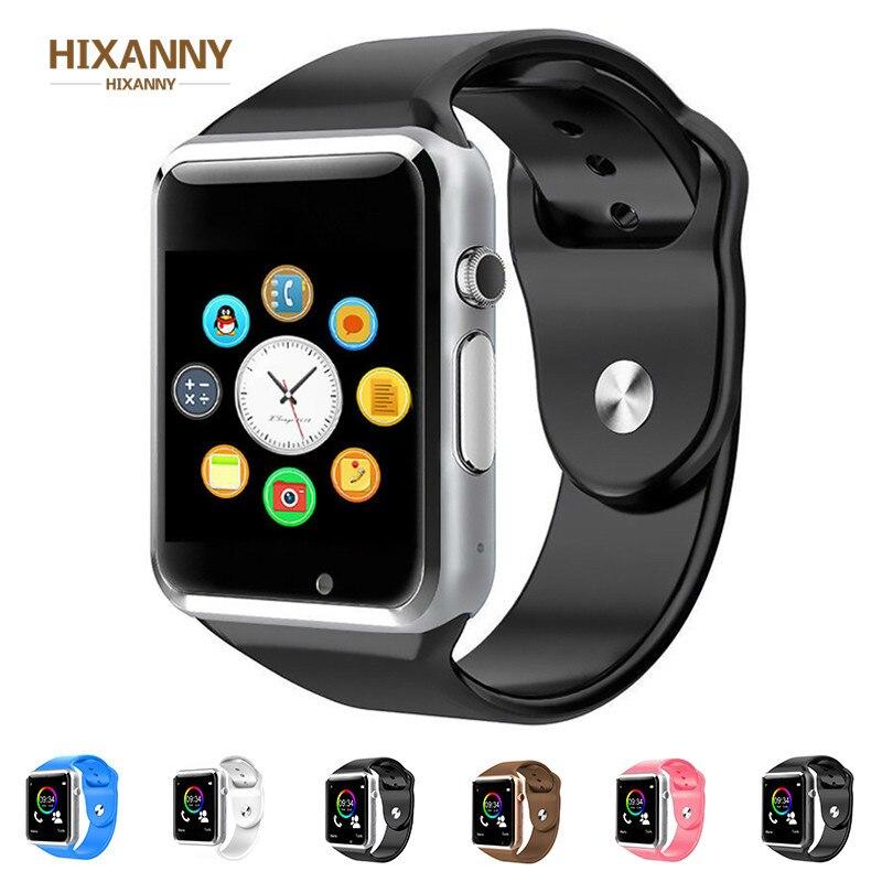 TOP A1 WristWatch Bluetooth Smart Watch Sport Pedometer With SIM Camera Smartwatch For Android Smartphone Men women smartwatch