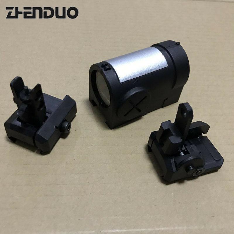 ZHENDUO BF MP7 vista mejor utilizado para MP7 V1 V2 V3 gel pistola de chorro de juguete Accesorios