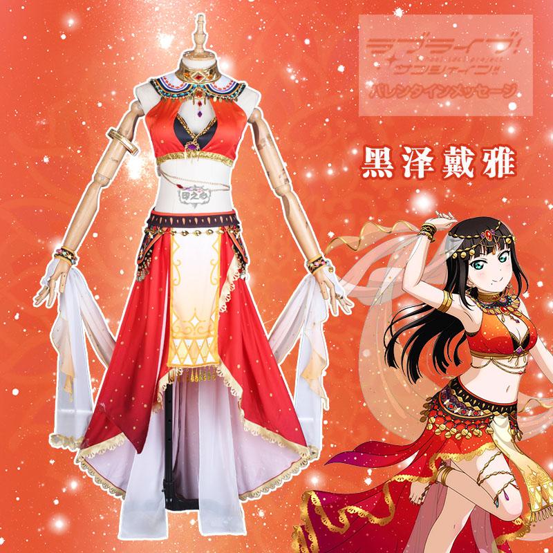 Love Live Sunshine Aqours Christmas Eve Riko Awaken the power Cosplay Costumes