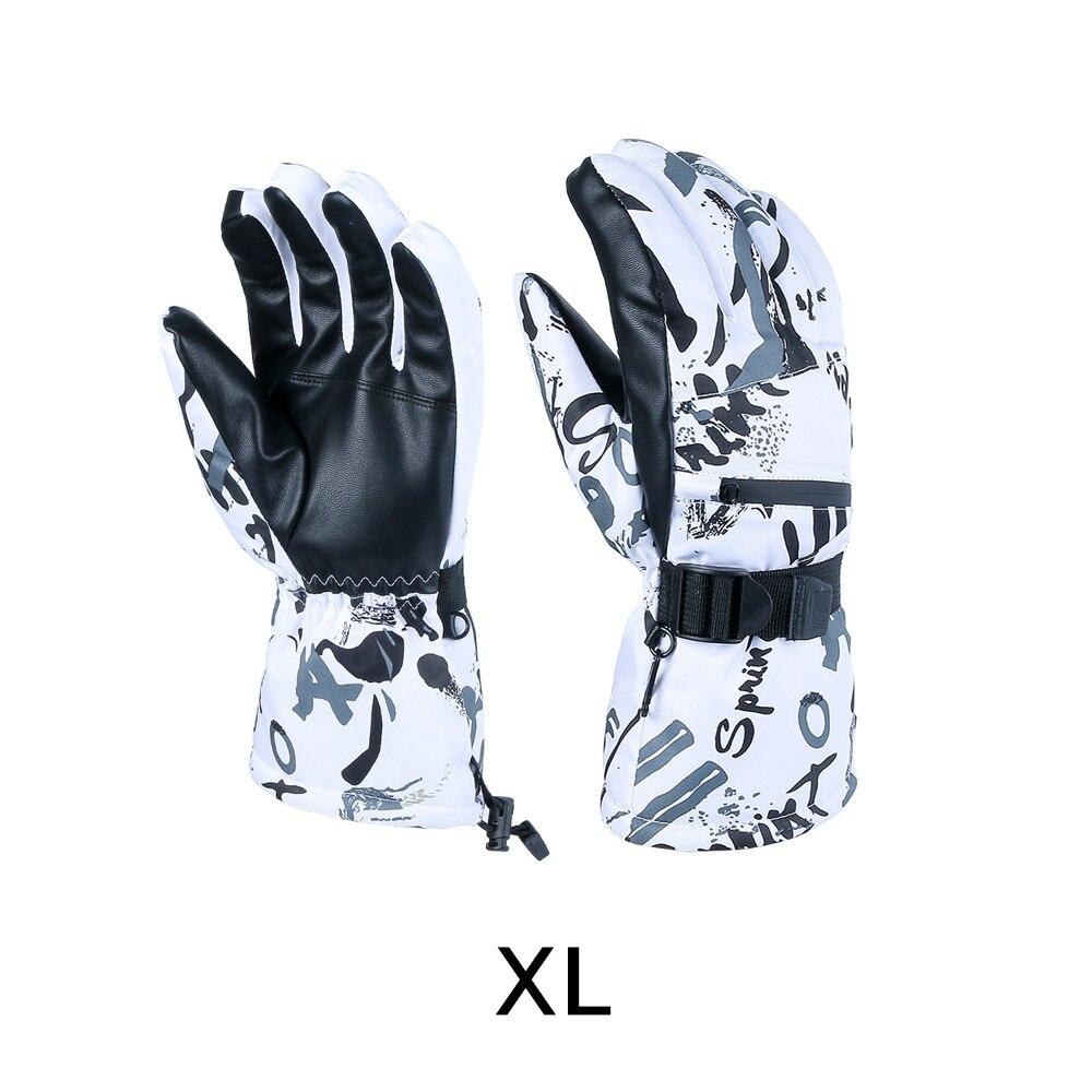 Зимние теплые лыжные перчатки для сенсорного экрана, зимние лыжные перчатки, перчатки для сноуборда, зимние водонепроницаемые перчатки для...