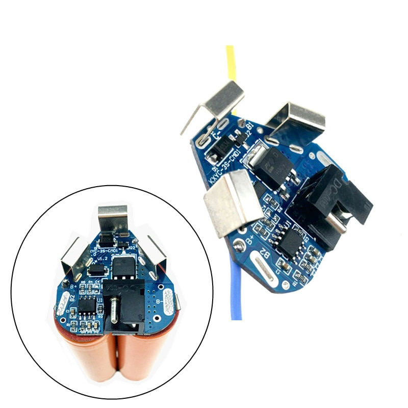 3s bms Electric tool Lithium Battery li-ion electric screwdriver 12V PCB board for 12.6V 18650 power battery with DC connector