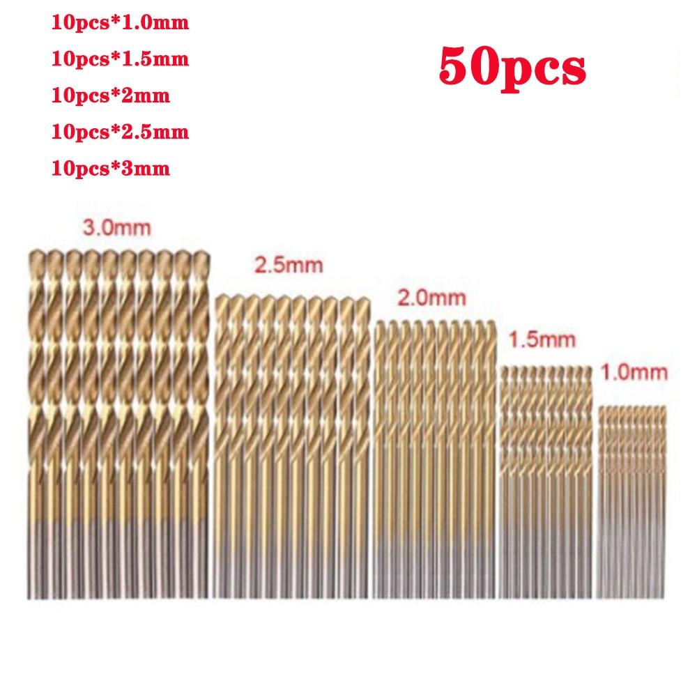 Sokféle nagy sebességű acél titán bevonatú csavarfúró, - Fúrófej - Fénykép 2