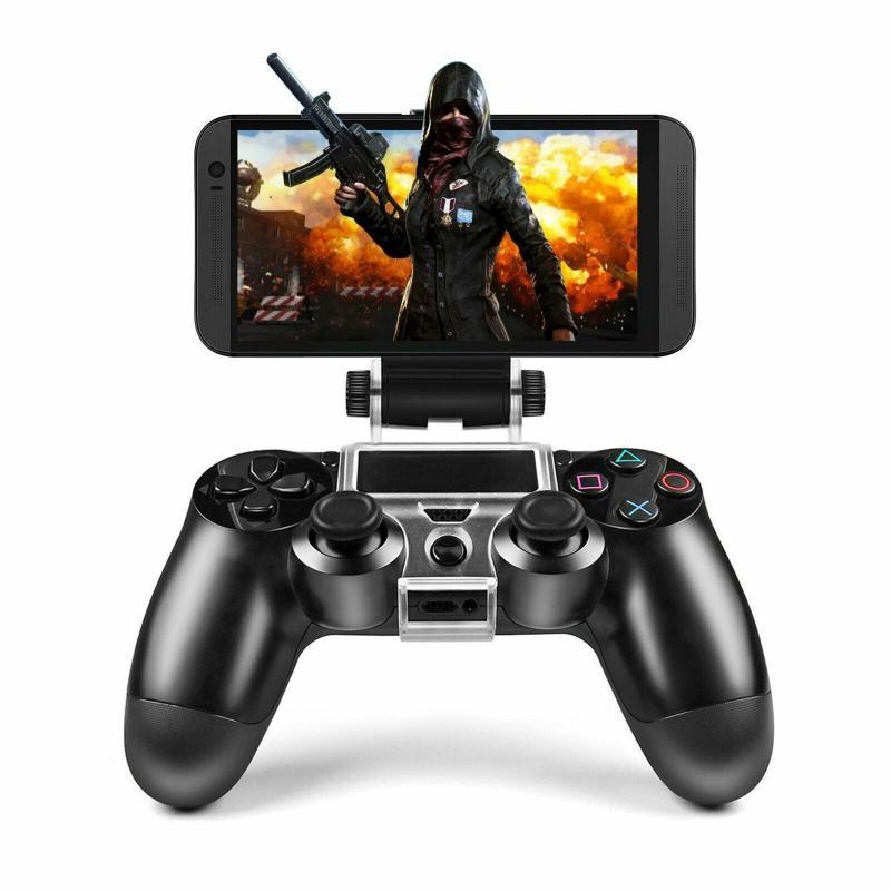 Для игровой контроллер подставка для PS4 DualShock 4 гибкий и прочный мобильный телефон игровой закрепленным штативом кронштейном для смартфона