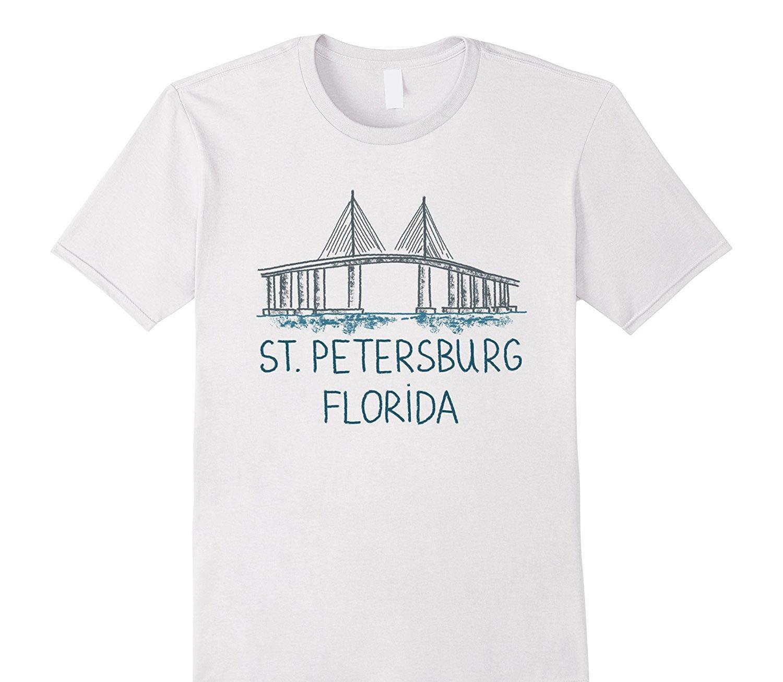 Camiseta holgada de algodón para hombres Cool Tops Camisetas Camiseta de St.