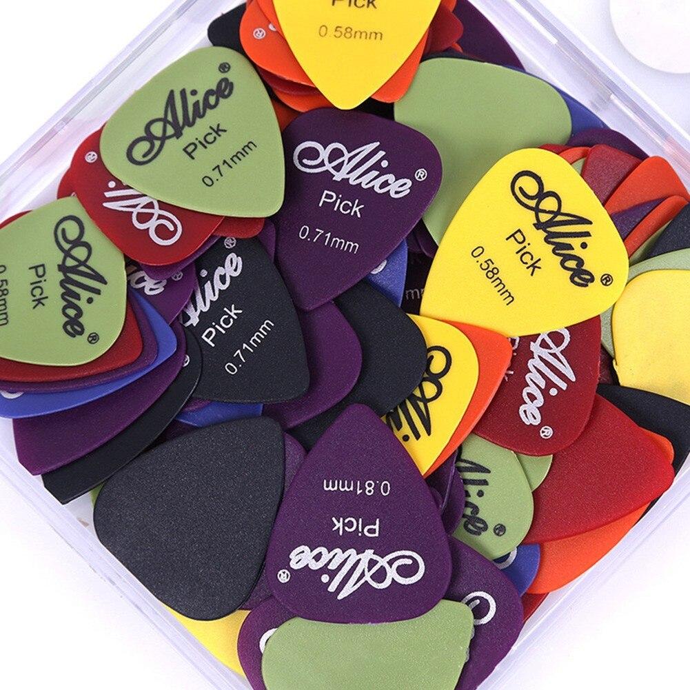 100 шт. медиаторы для гитары, электрические медиаторы для акустической гитары, толщина 0,58-1,5 мм, электрические медиаторы для басов, аксессуары...