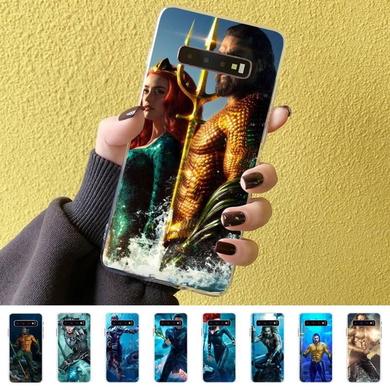 Funda de teléfono pintada An Aquaman, funda para Samsung S10 S10lite S9 S9plus S8 S7 S6 S6edge