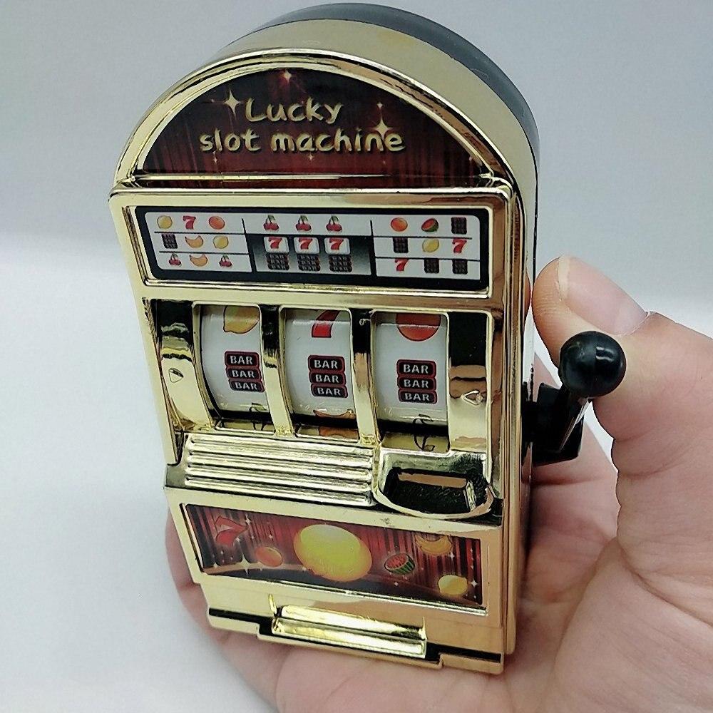 1pc Mini Slot Machine Pocket Fruit  Lucky Jackpot Gadget Creative Antistress Toys Funny Games Juguetes Kids Birthday