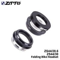 ztto mtb road bicycle headset cnc 1 18 1 12 1 5 tapered 28 6 straight tube bike fork internal steering bearing