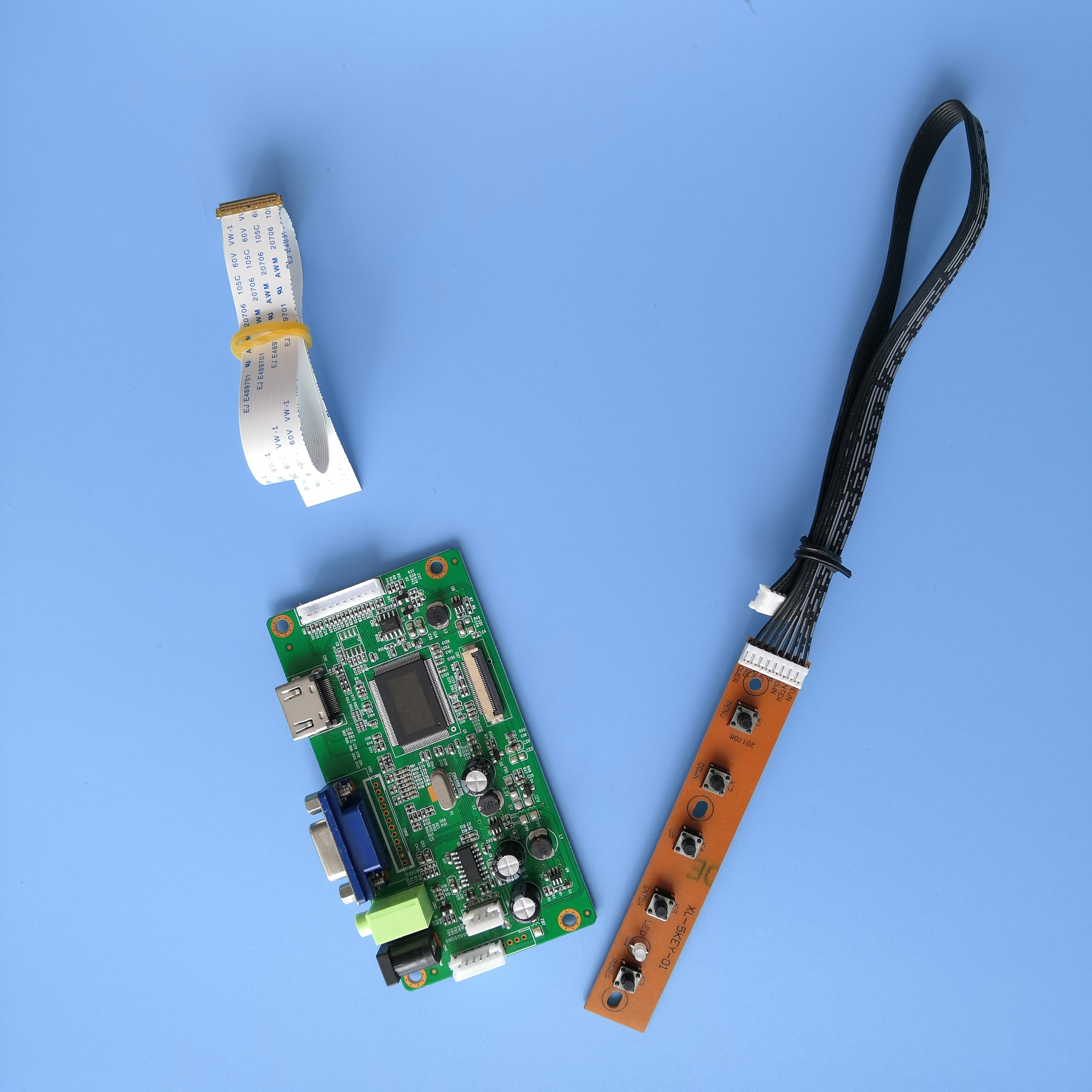 ل NV156FHM-N63 LCD لتقوم بها بنفسك رصد سائق عدة VGA 1920X1080 شاشة عرض 30Pin LED EDP EDP تحكم مجلس 15.6