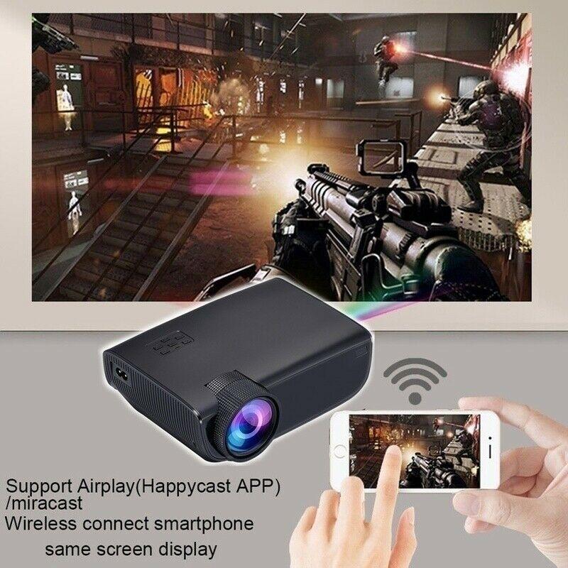 1080P 3D 4K HD LED العارض المسرح المنزلي سينما لالروبوت/IOS JR صفقات